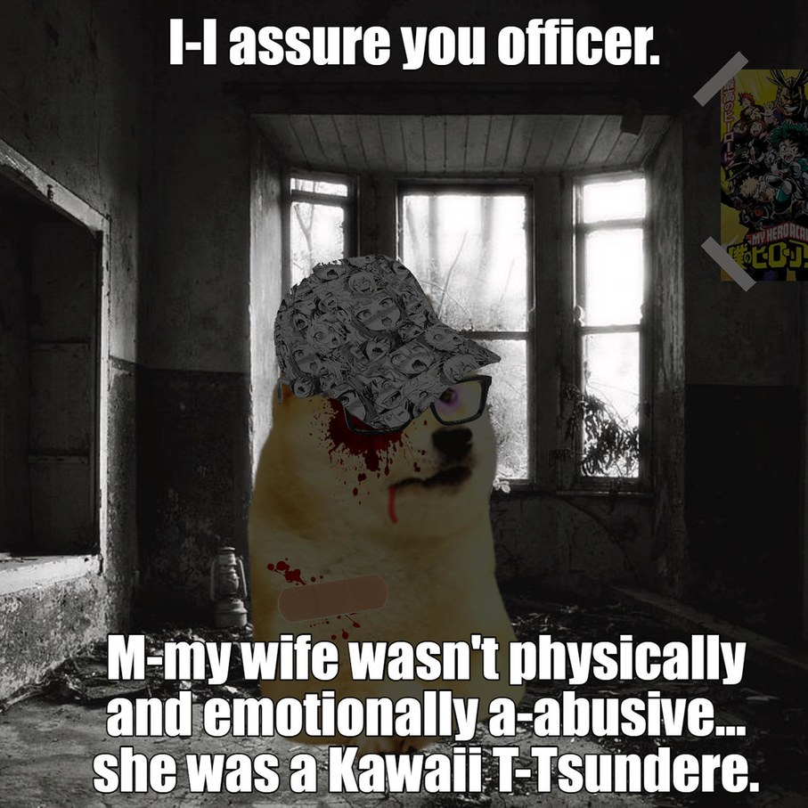 Nothings wrong officer - meme