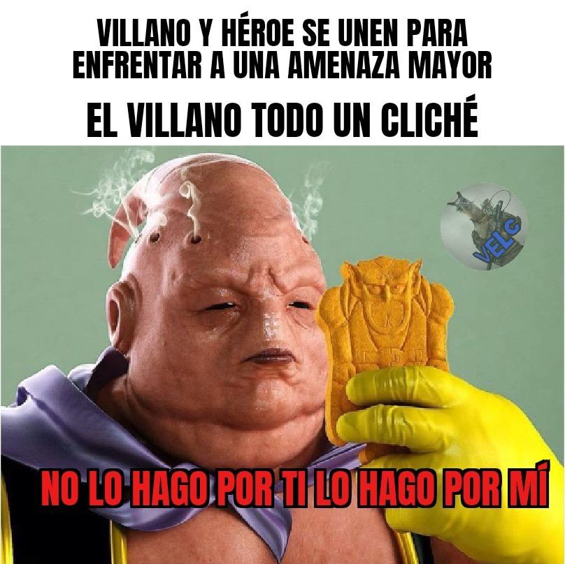 villano cliche - meme