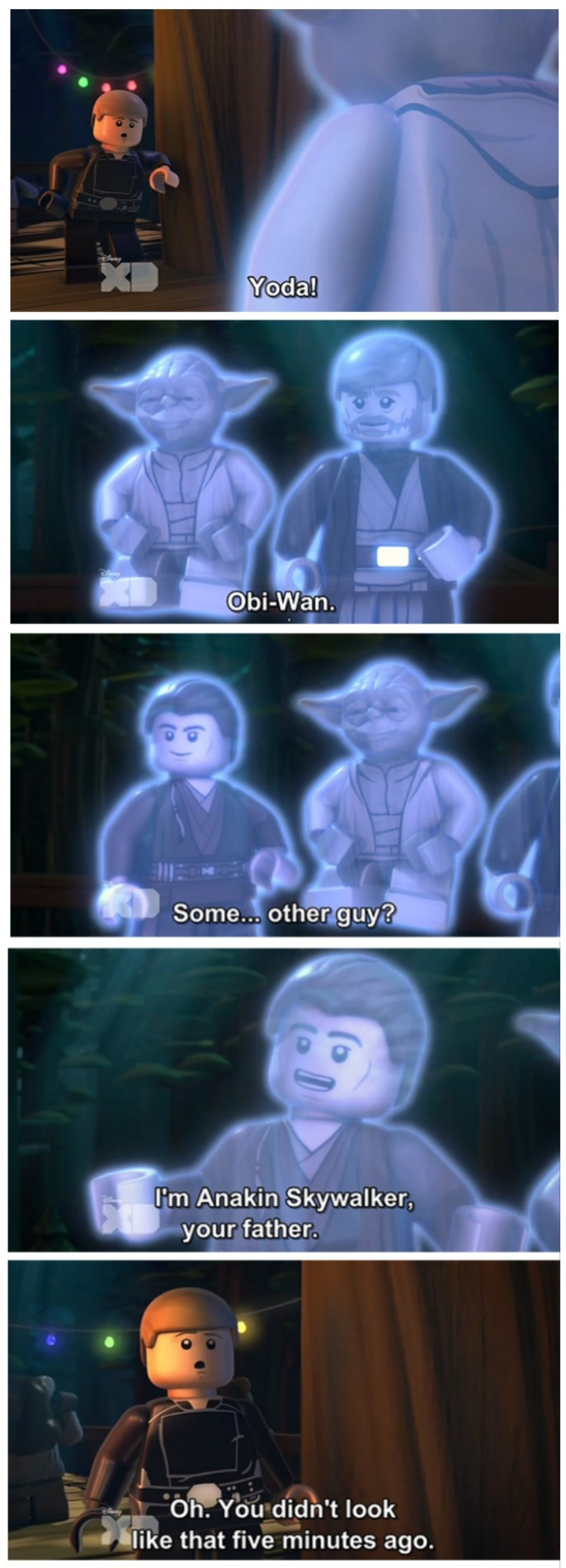 lego star wars was gold ^^ - meme