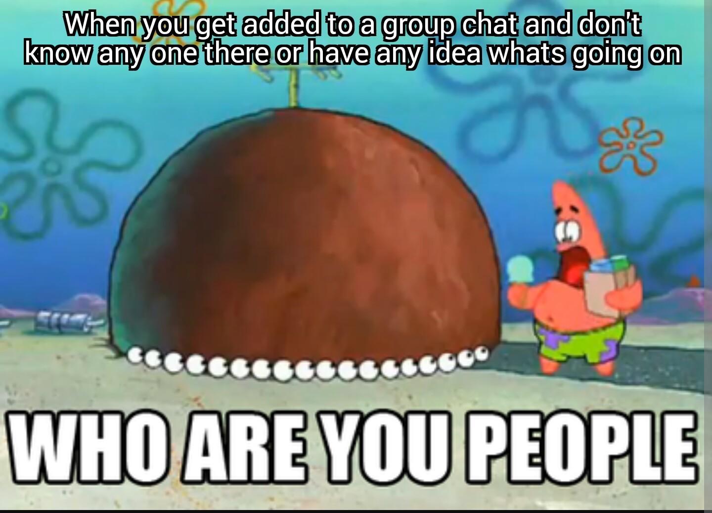 Why am I here - meme