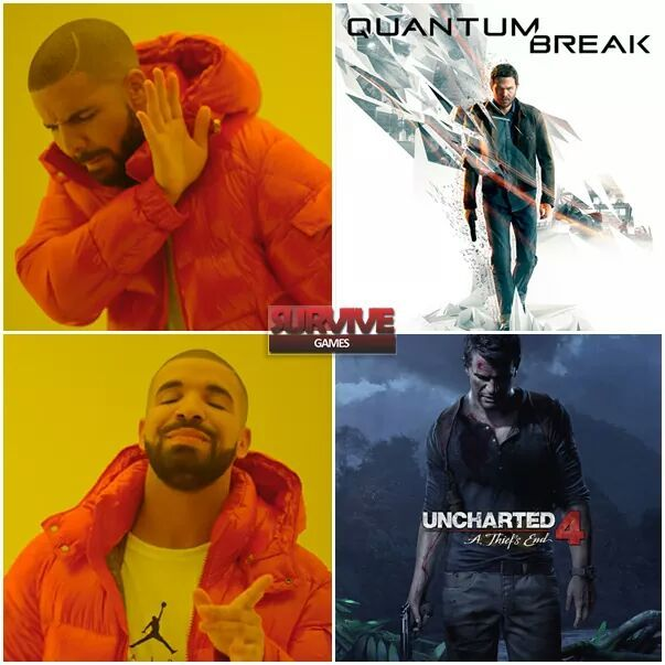 Uncharted é foda - meme