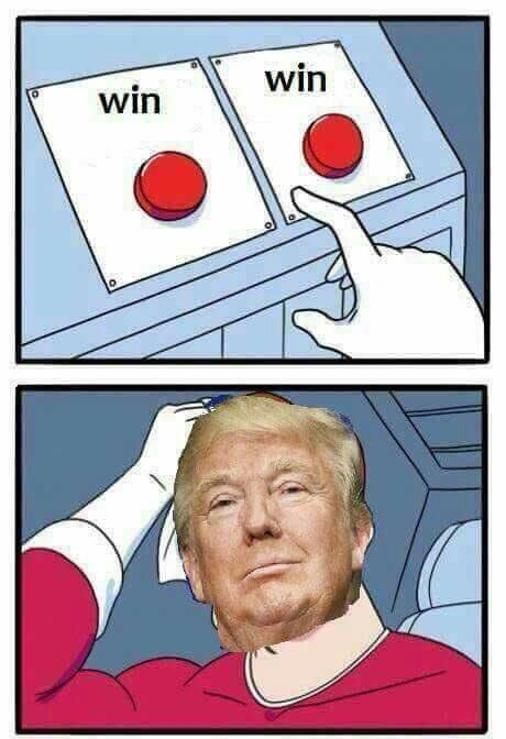The Trump train never stops - meme