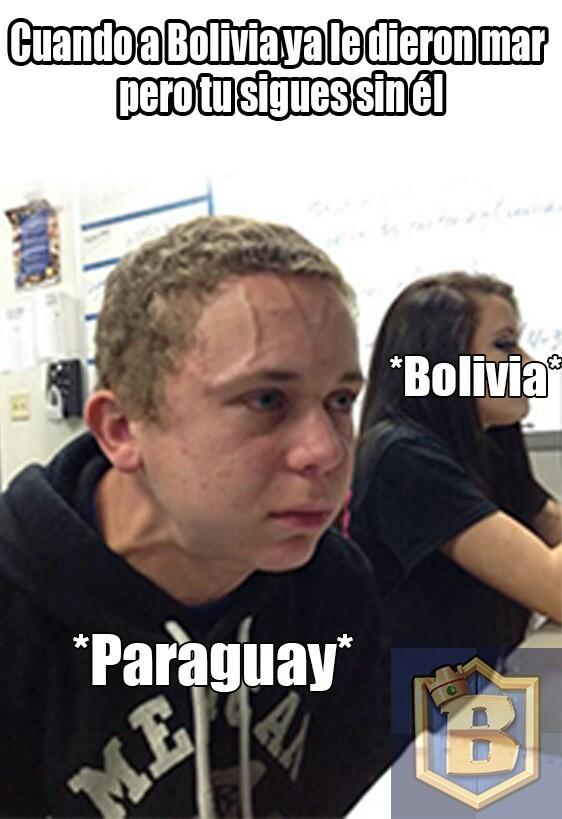 TIEMBLA PARAGUAY - meme