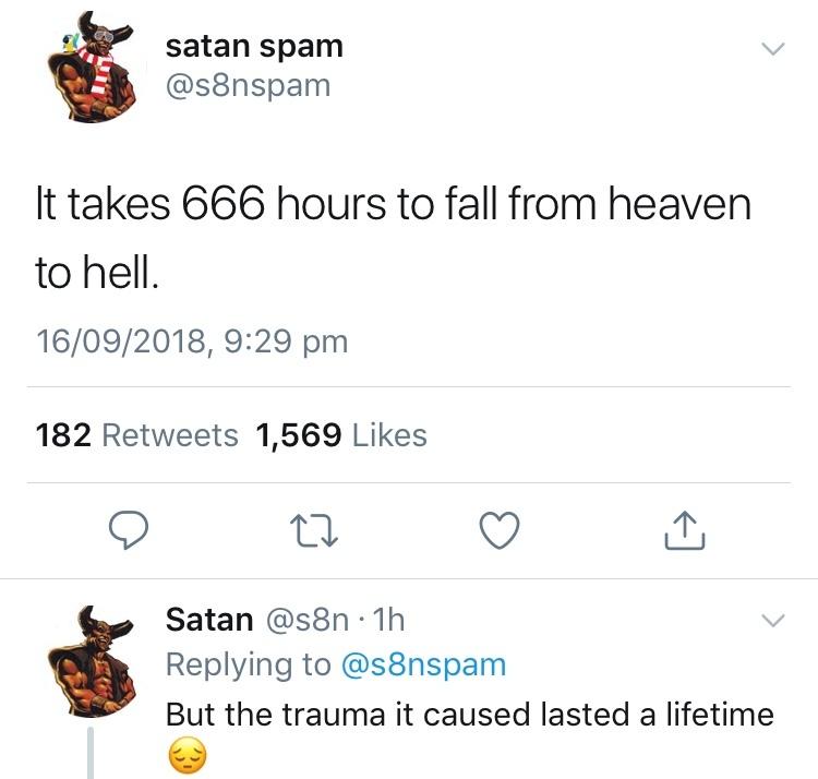 poor Satan - meme