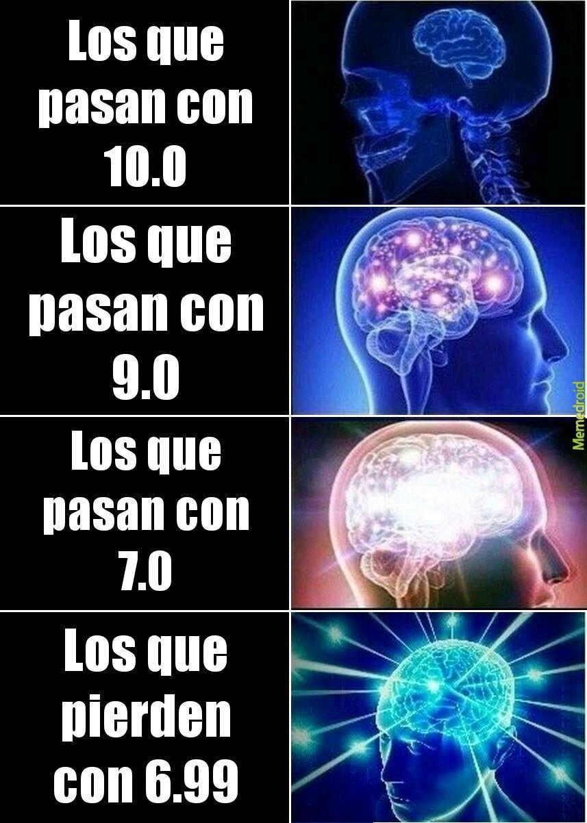 Nota final - meme