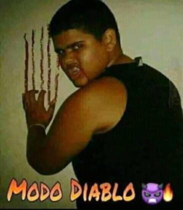Modo Diablo - meme