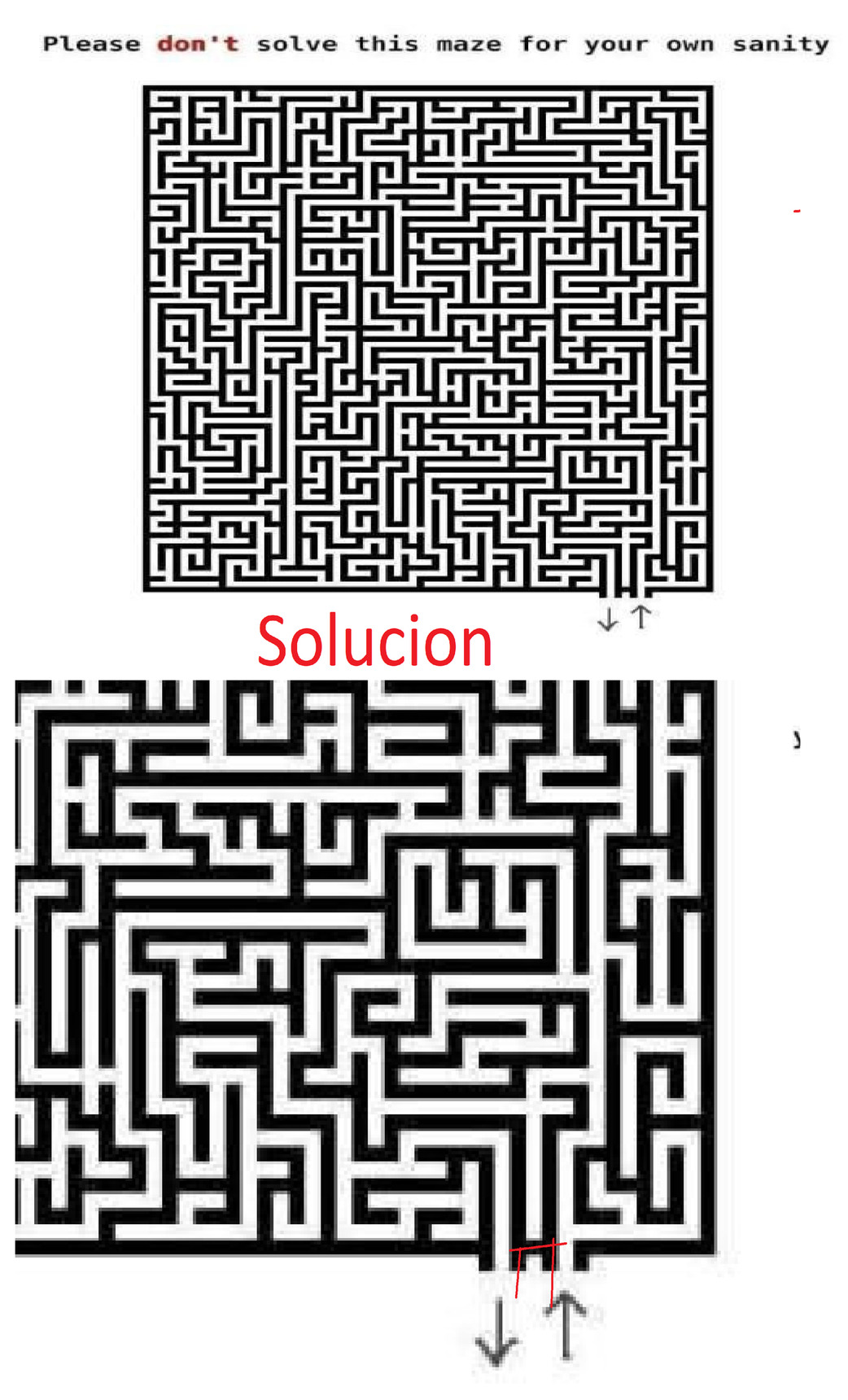 Casi me quedo ciego tratando de resolverlo literalmente - meme