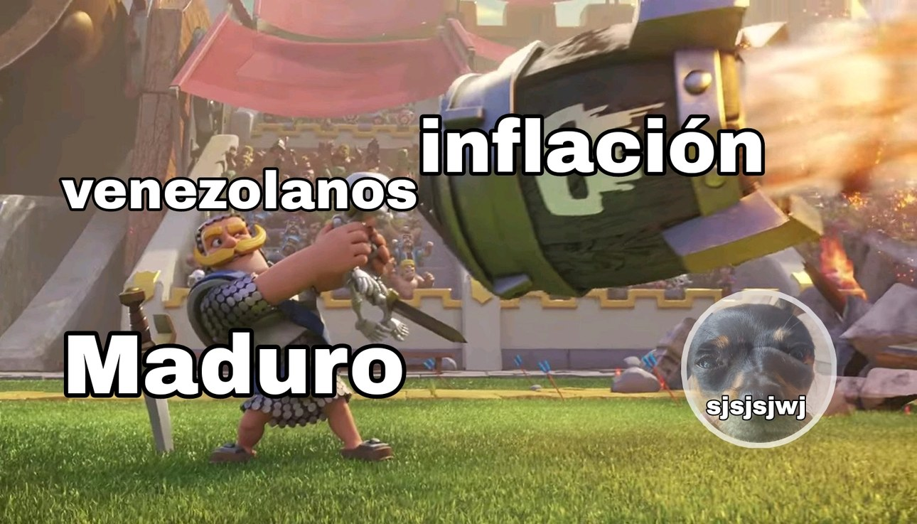 Venezuela be like - meme