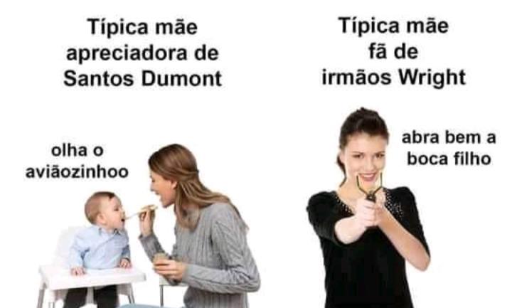 Ave Santos Dumont - meme