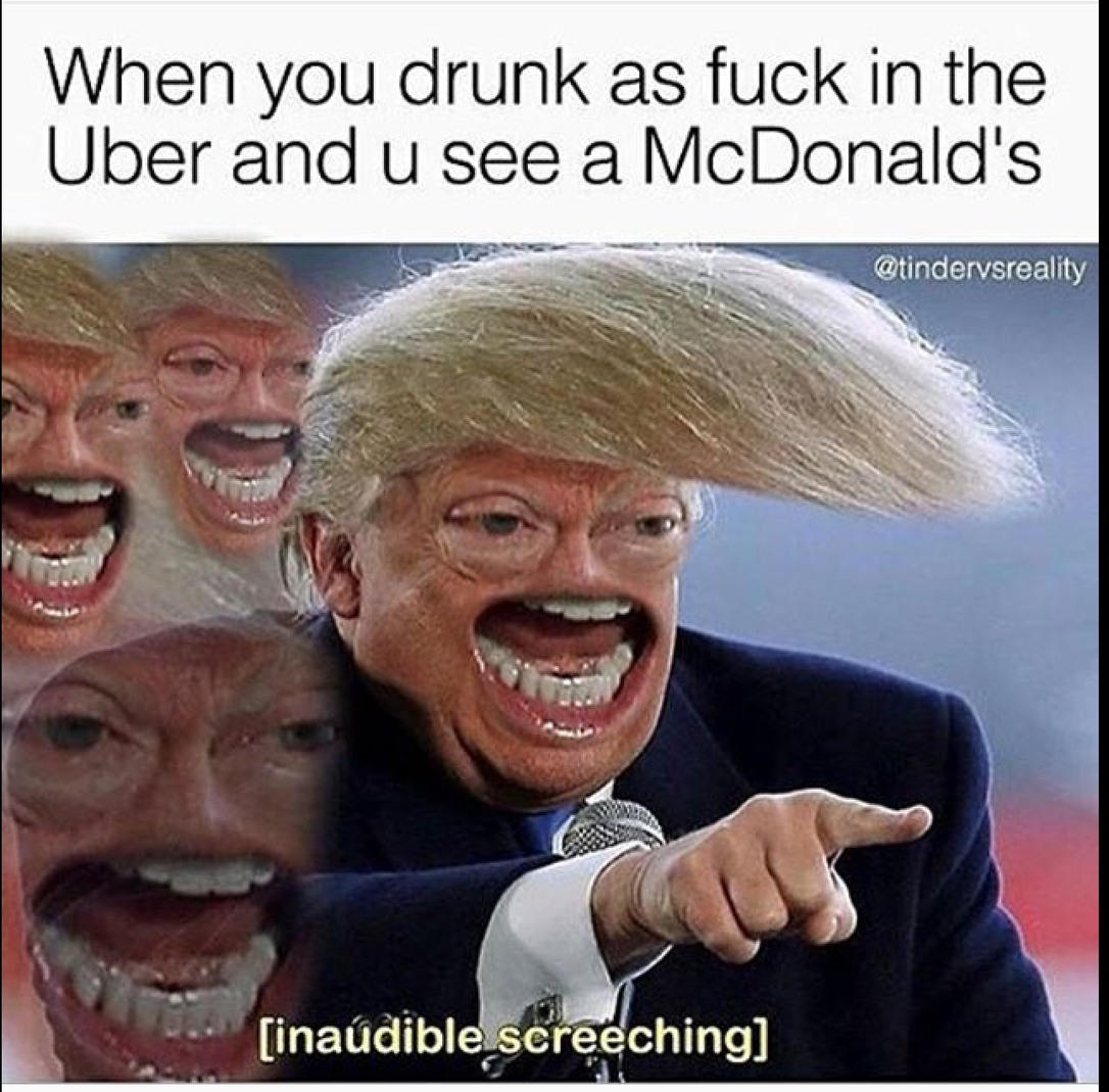 but then you decide to eat the uber's ass - meme