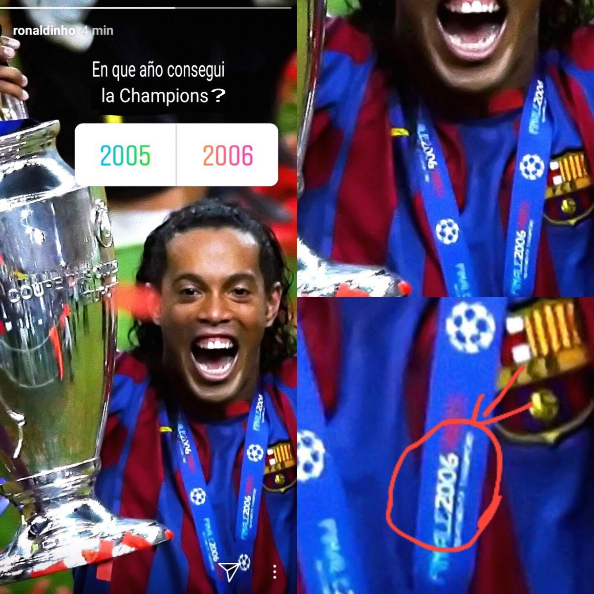Este Ronaldinho es un loquillo - meme