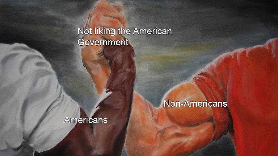 This is America - meme
