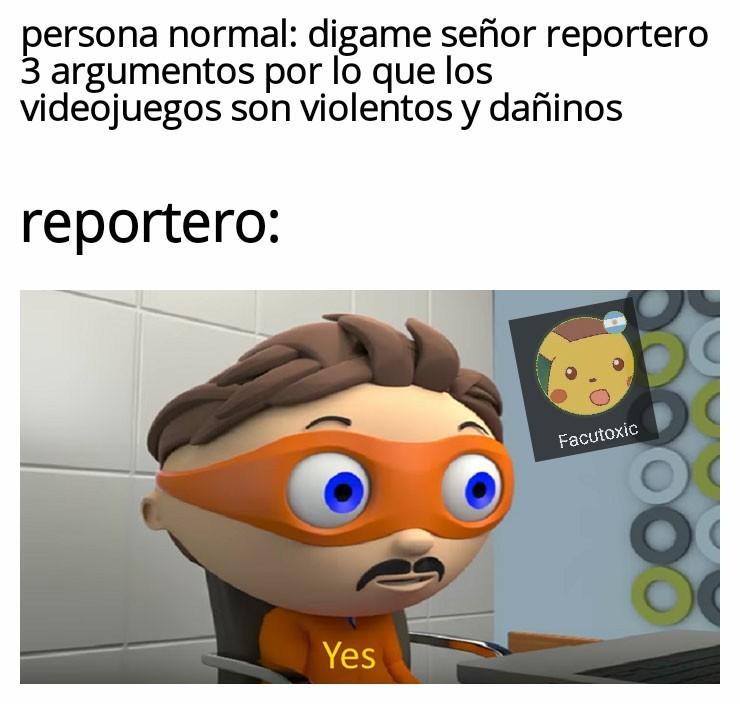 Reportero promedio - meme