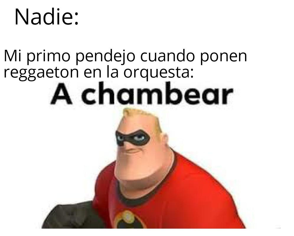 A chambear - meme
