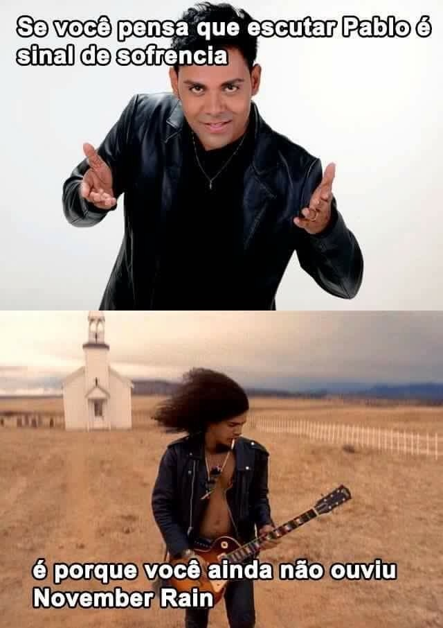 'Cause nothin lasts forever, even cold November rain - meme