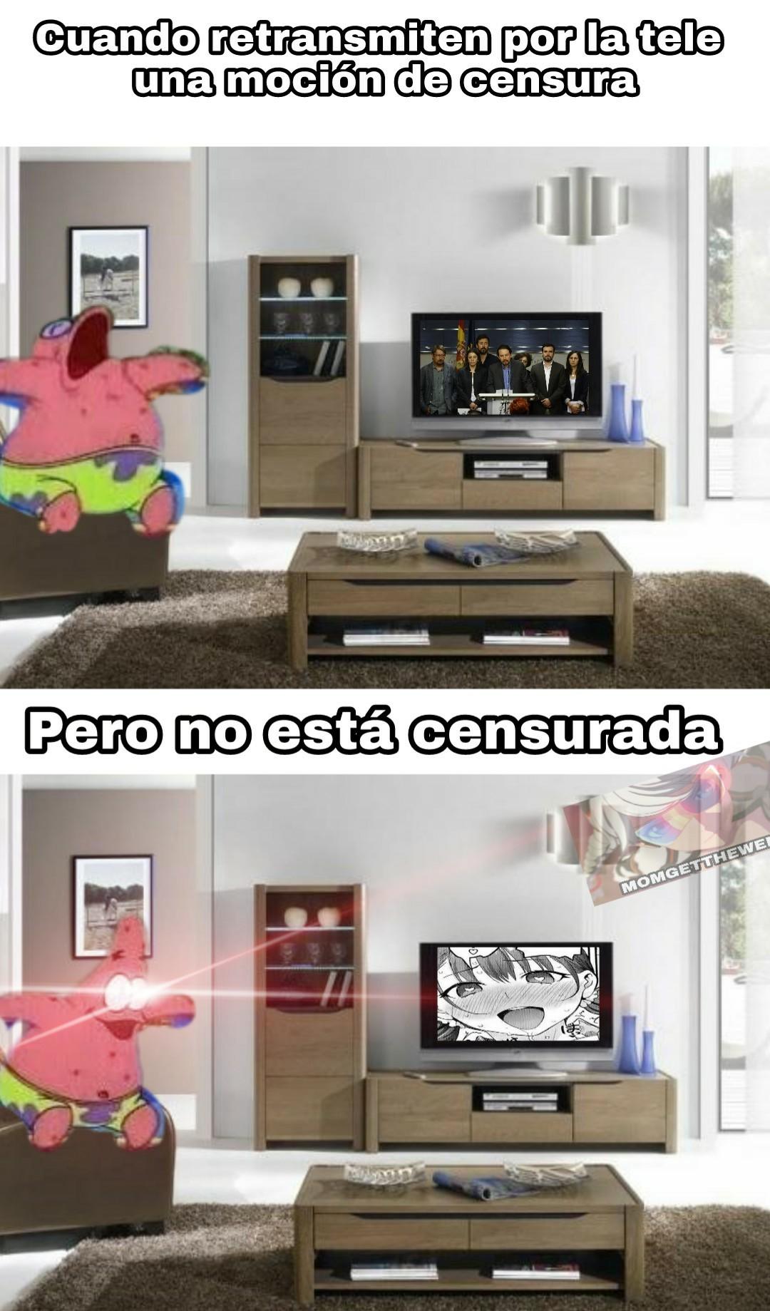España en estos momentos - meme