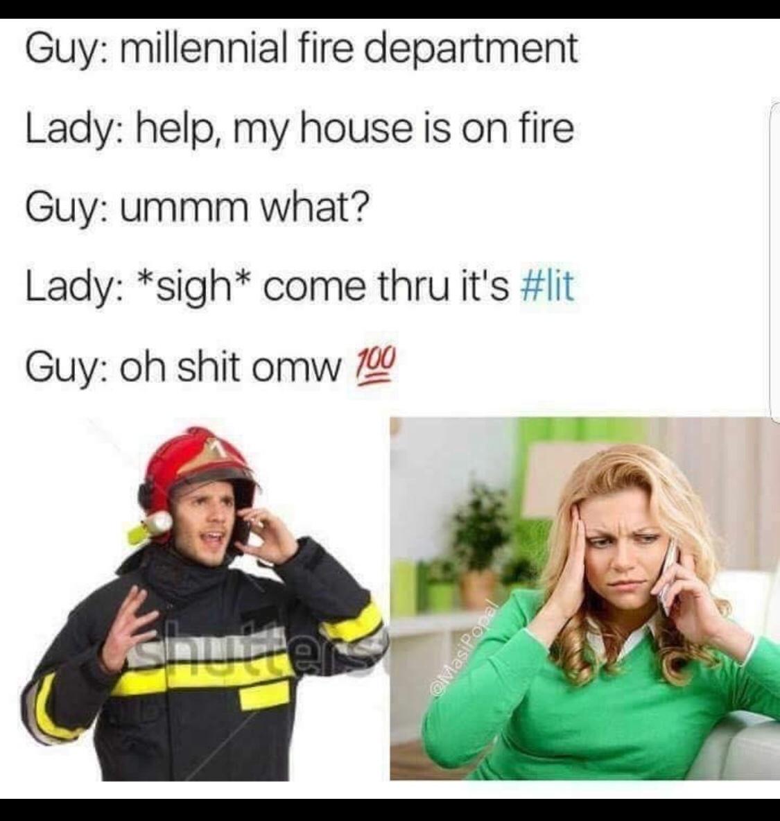 it's lit son - meme