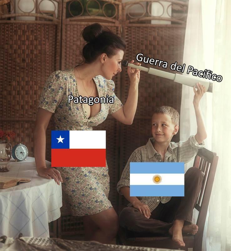 Guerra del Pacífico - meme