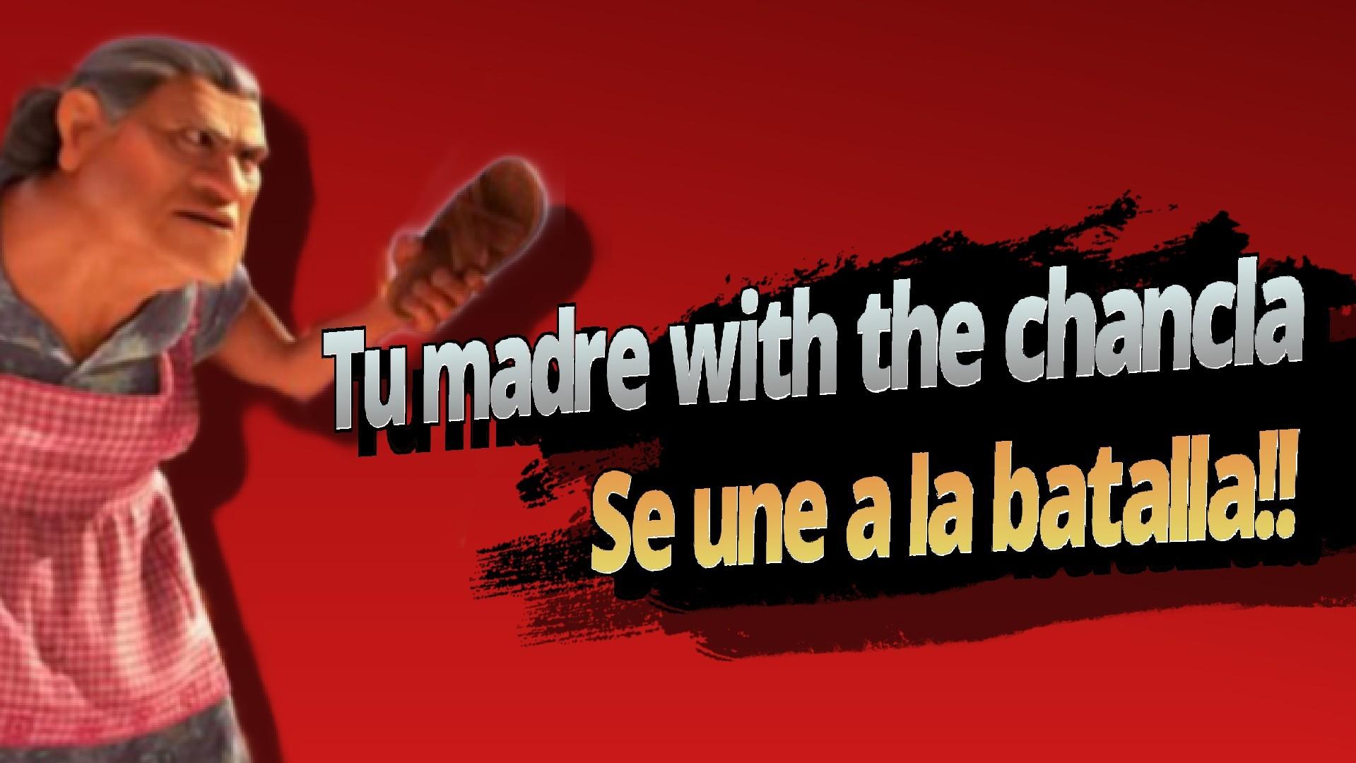 Tu madre se une a la batalla - meme