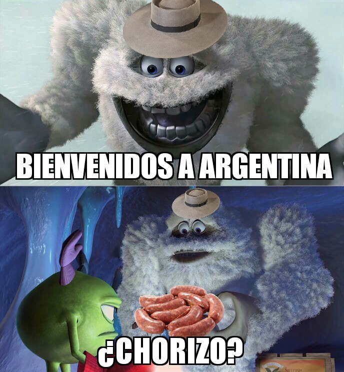 Bienvenido a argentina - meme
