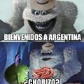 Bienvenido a argentina