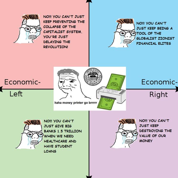 Haha money printer go brrr - meme