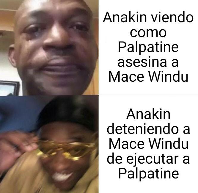 Un capo el Anakin - meme