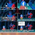 El algoritmo de facebook no sirve