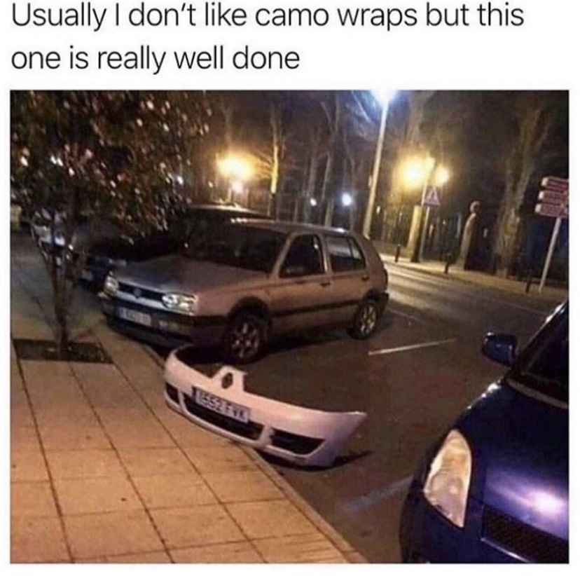 camo wrap renault - meme