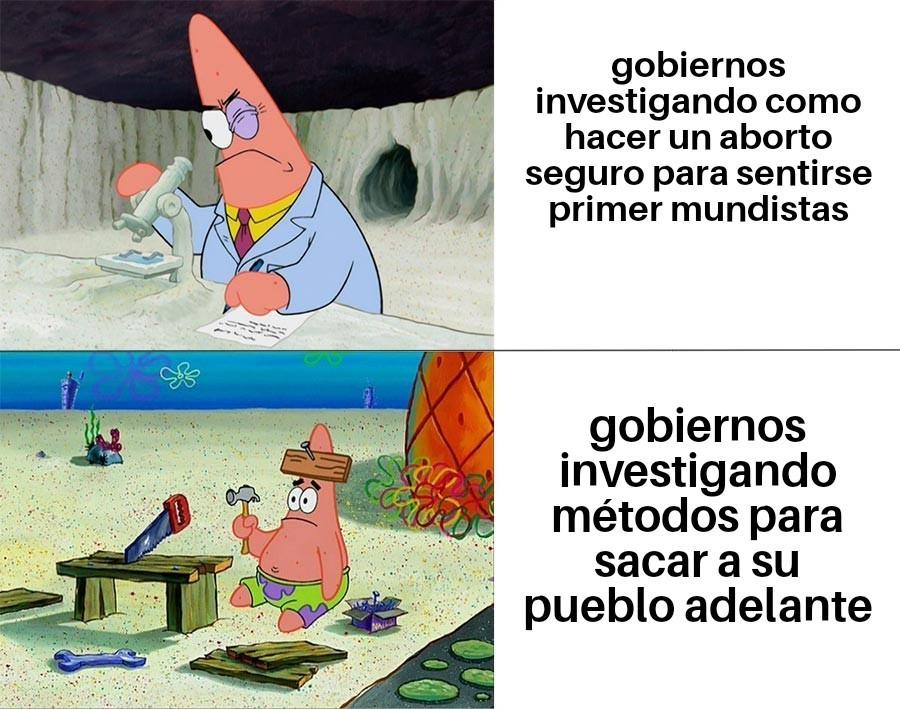 Presidentes be like - meme