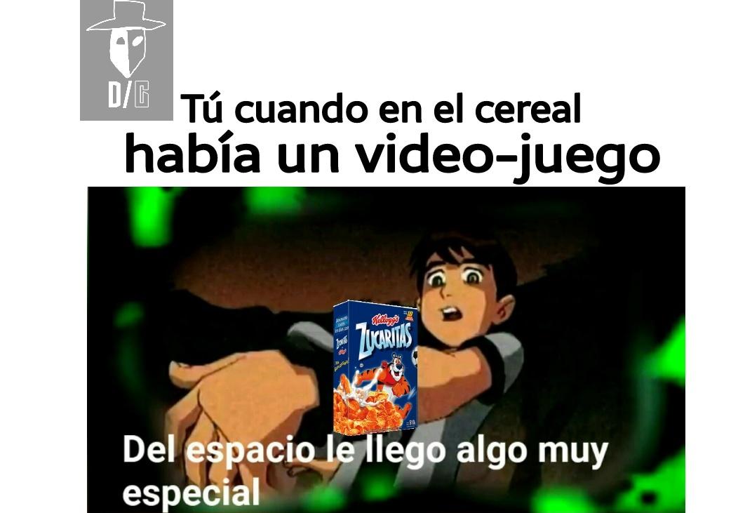 Juegos en el cereal :') - meme