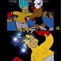Resume de la pelea de goku vs jire xD