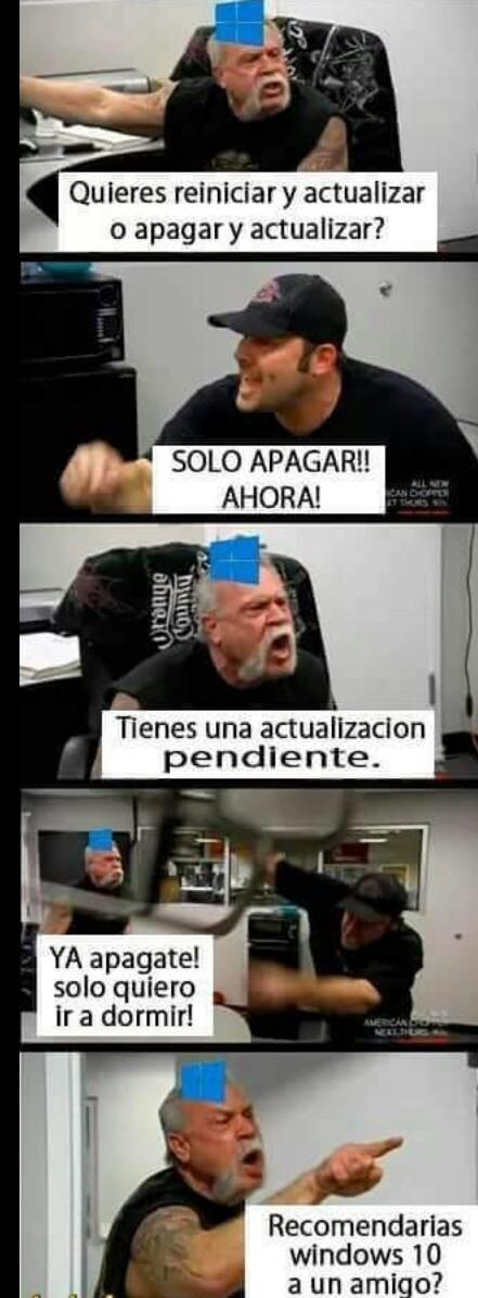 La pura verdad - meme