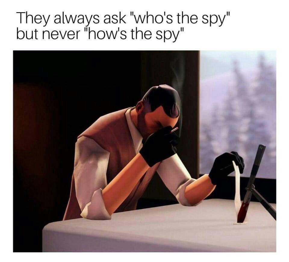 Poor spy - meme