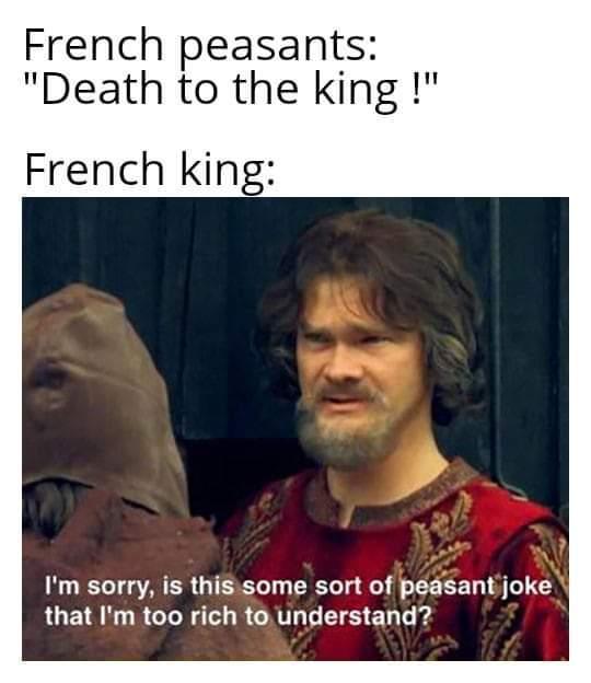French revolution time - meme