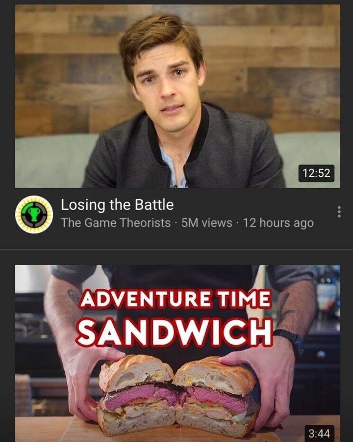 Matty boi hold a big sandwich - meme