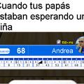 Andrea la que parada mea