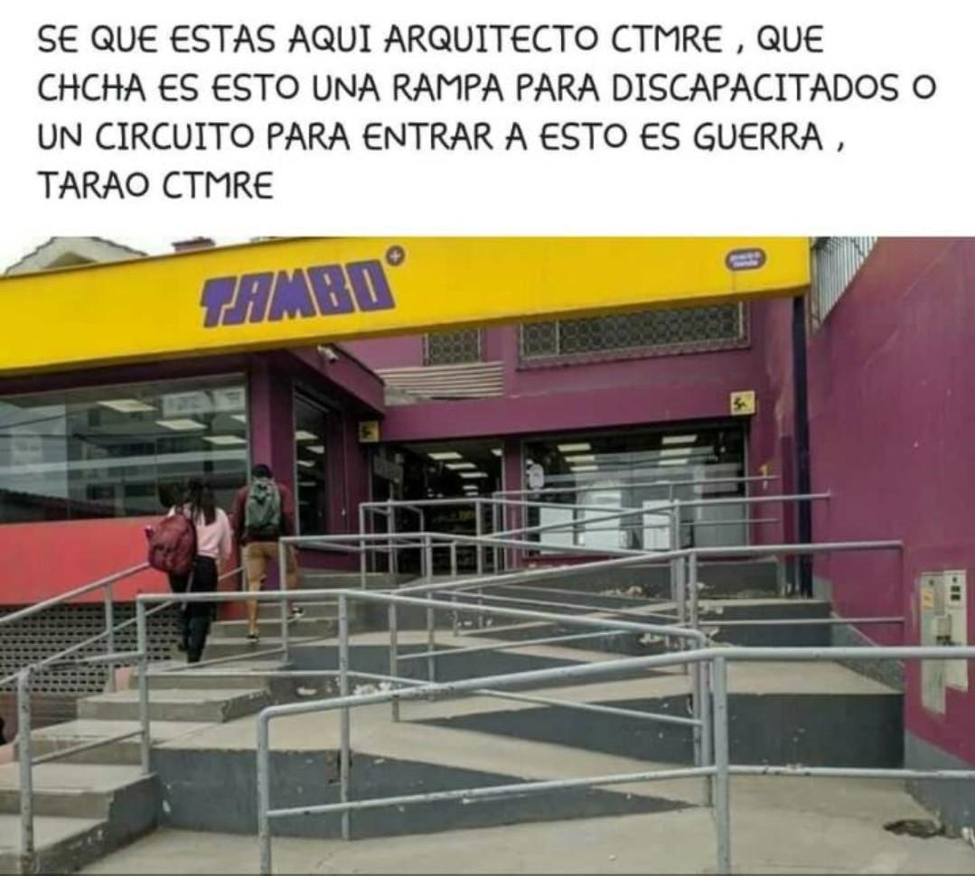 El Tambo acá en Perú es como un Oxxo - meme
