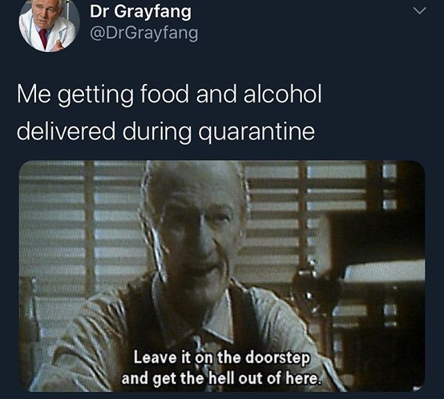Quarantine sure is fun - meme