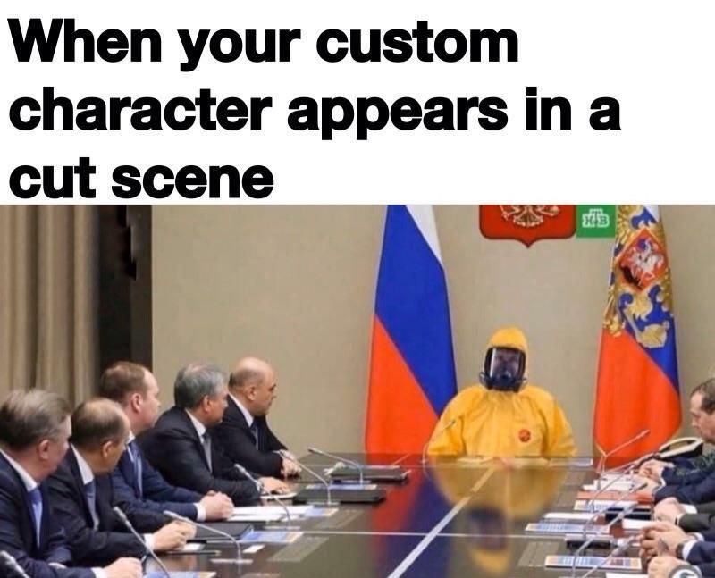 I like to do weird shit like this. - meme