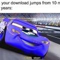 Very fast much b/s