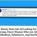 Disney is hiring