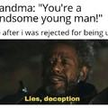 Lies.