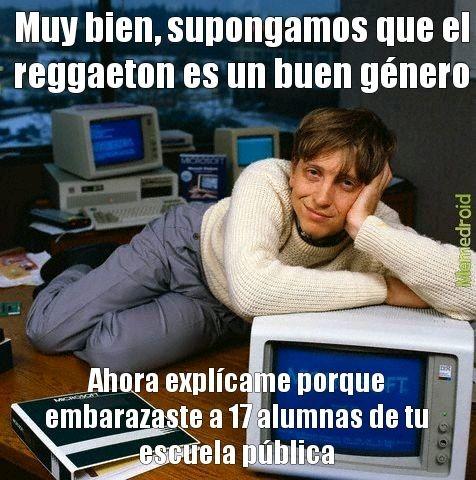 Reggaeton = mierda que no debió existir - meme
