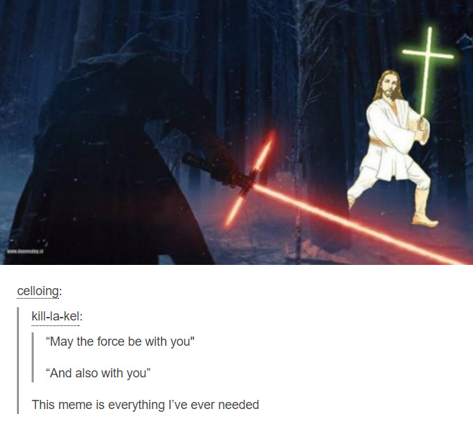 The Force - meme