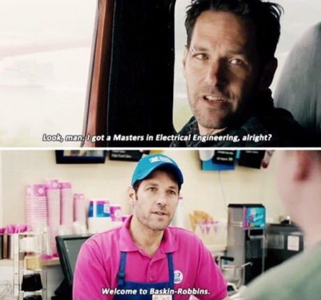 posted by Reddit user: VictorXLR    caption: most realistic scene in a marvel movie - meme