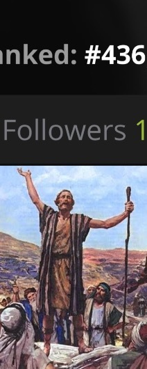 Eis que você ganha o primeiro seguidor