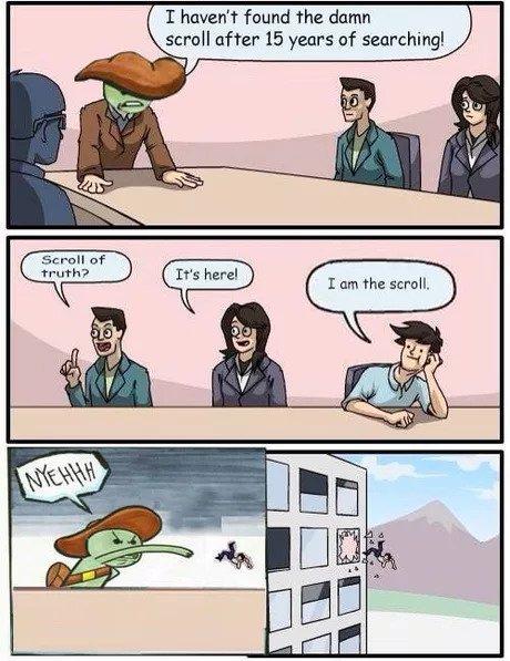 Scroll of Truth - meme
