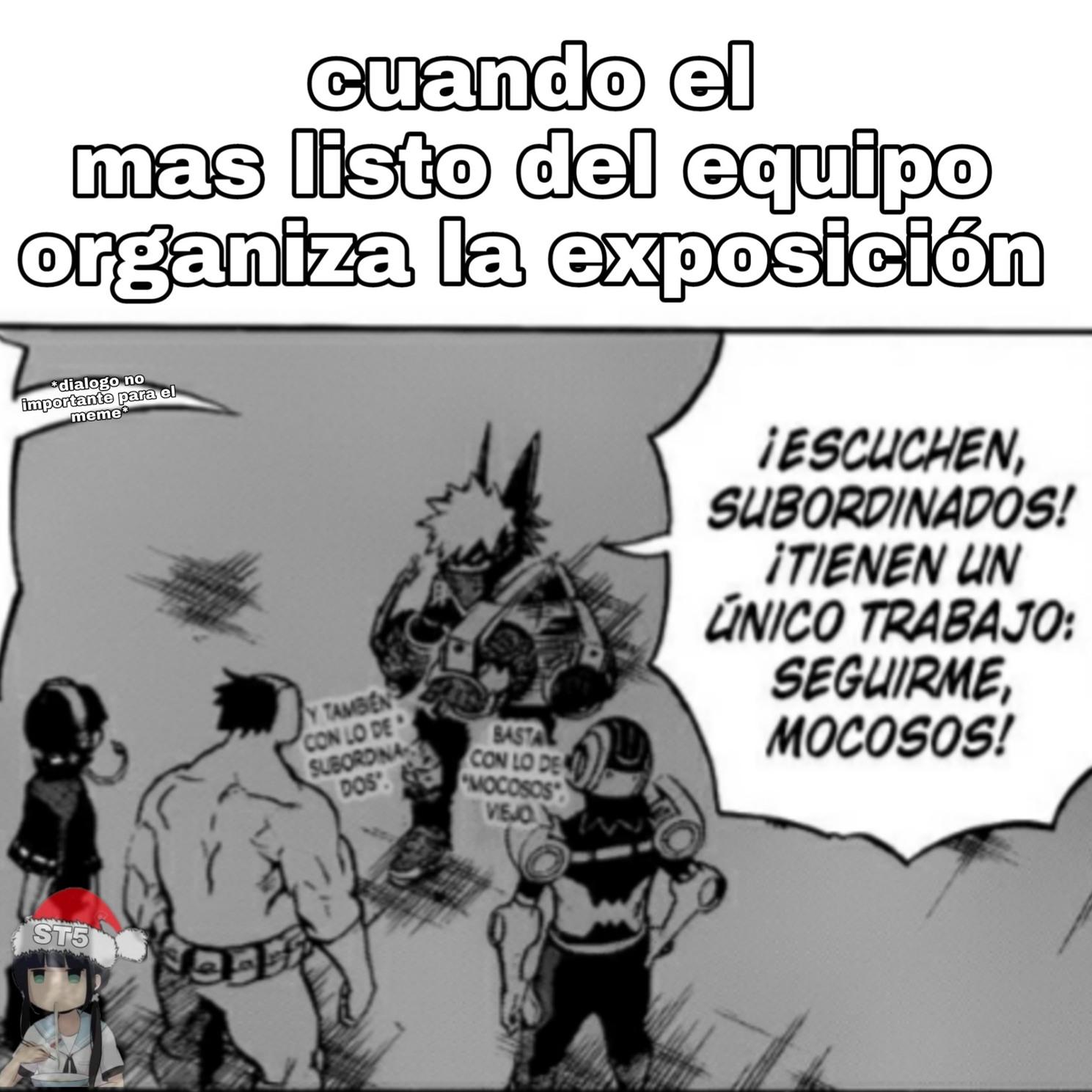 Manga:boku no hero academia - meme