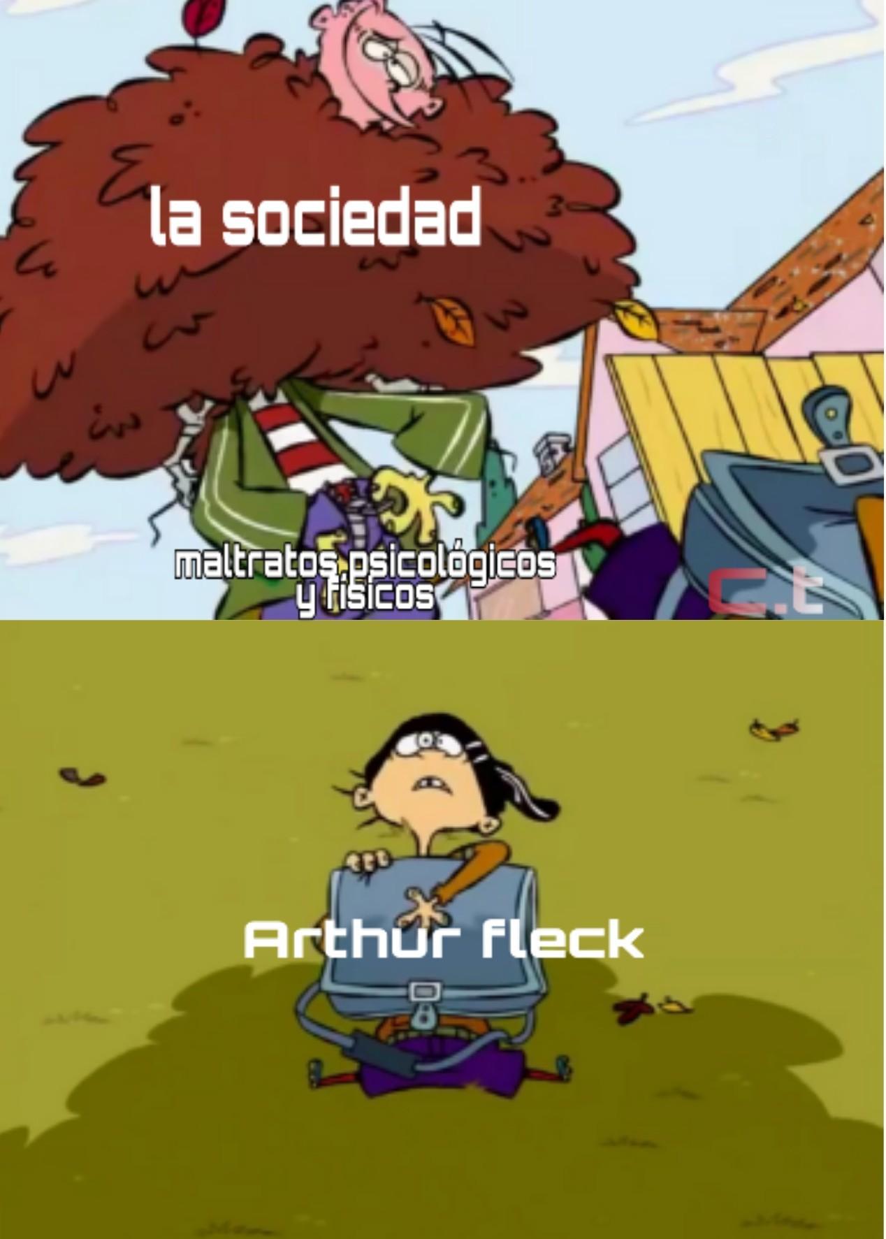 (joker 2019) pobre cosita fea - meme